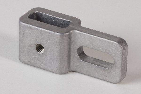 Abverkauf - Quertraverse einfach Aluminium Druckguss roh