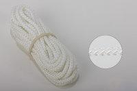 4 mm Nylon- Zugschnur - weiß - Meterware