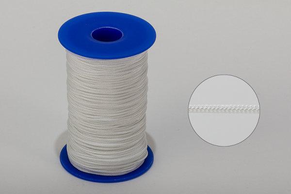 2,0 mm Nylon-Zugschnur - weiß - Meterware