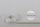 Zugband rohweiß mit Kennlinie schwarz 10 x 0,9 mm