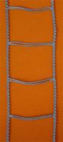 Leiterkordel für 70 mm Lamellen grau
