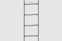 Leiterkordel für 50 mm Lamellen schwarz