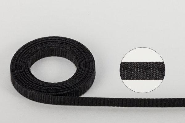Jalousie-Aufzugband 6,0 x 0,5 mm schwarz
