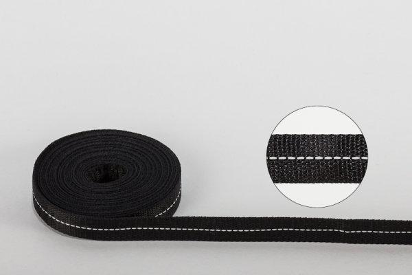 Polyester-Zugband 12 x 0,7 mm Ausgerüstet