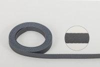 Aufzugband - TEXBAND® 8,0 x 0,34 mm grau
