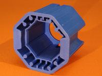 Achtkantadapter PVC für Kegelradgetriebe 40/60