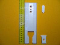 Deckplatte 135/165 mm geteilt