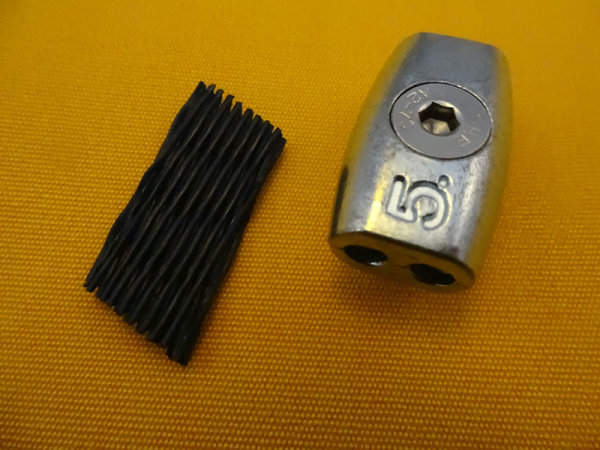 Eiformklemme DIN7991, 5 mm
