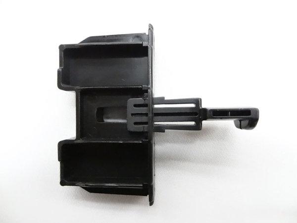 Endkappe für Unterstab - schwarz, 2-teilig