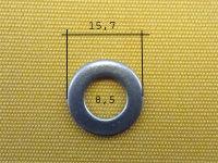 Scheibe DIN 125-8,4-15,7-A2