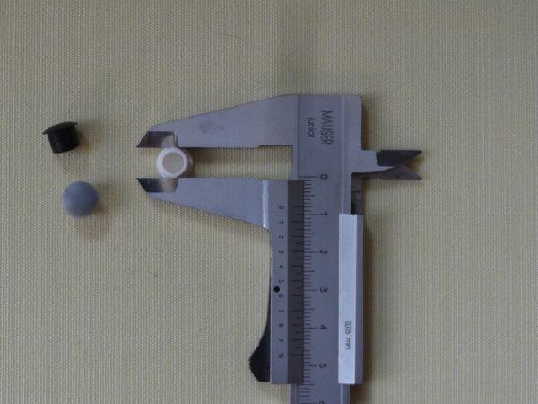 Abdeckstopfen für 8 mm Bohrung
