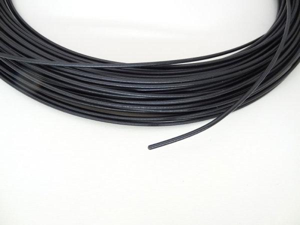 Spanndraht 3 mm - Polyamid- ummantelt schwarz