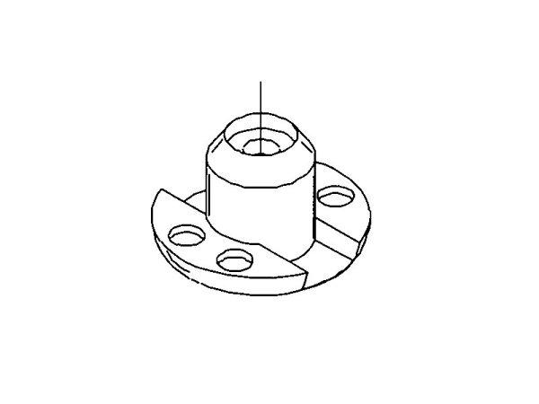 Leiterkordelknopf