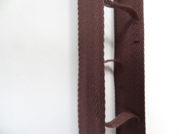 Leiterband für 35 mm Lamellen dunkelbraun