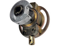 Kegelradgetriebe 3:1 für 50er Rundwelle, Antrieb: 6 mm 4-kant