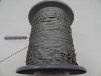 1,4 mm Zugschnur grau
