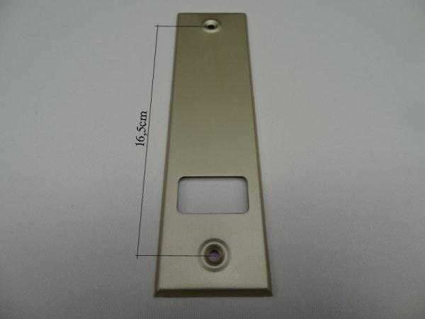 Deckplatte Alu champagner eloxiert matt LA 16,5