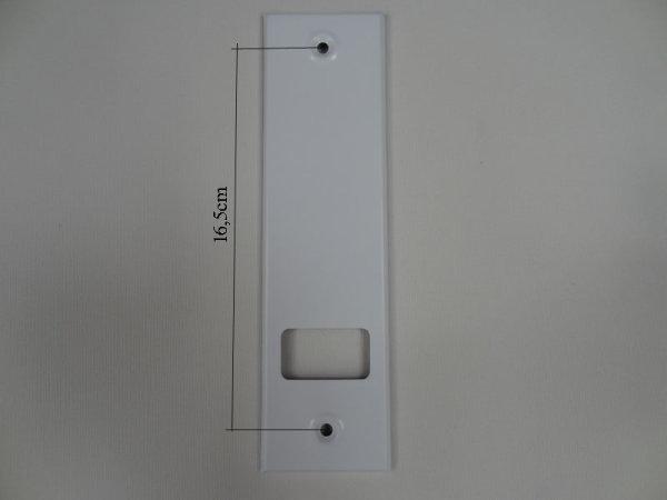Deckplatte Alu weiß lackiert LA 16,5