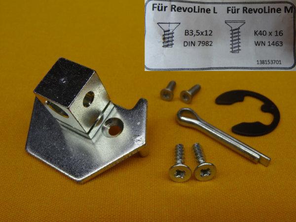 Motorkopfadapter elero RevoLine M & L auf alte Universallager