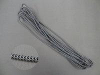 Endloszugschnur 4 mm, 400 cm Umlauf, schwarz/weiß
