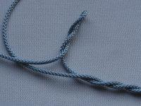 2,8 mm Zugschnur hellblau