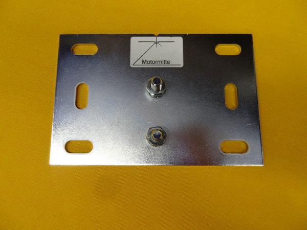Montageplatte für Rohrmotore