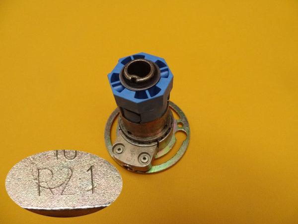 Kegelradgetriebe 2:1 rechts für 40er Welle