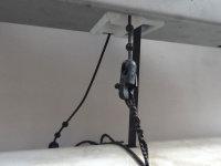 Restbestand - Kordelverbinder mit Scheibe zum Einhängen