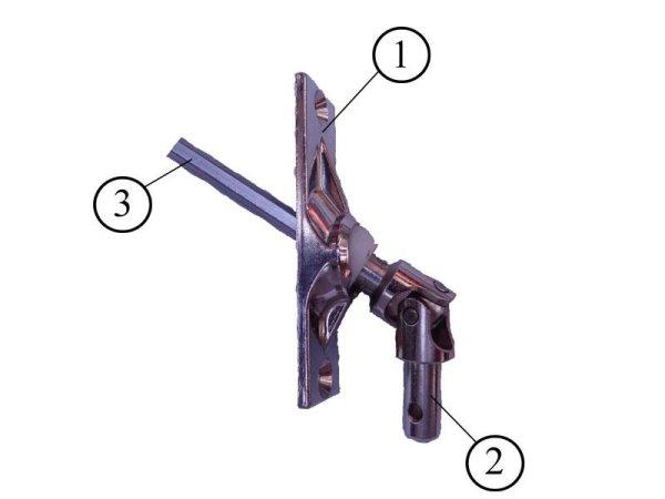 Gelenklager 45° mit 200 oder 300 mm Abtrieb