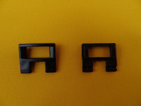 Texbandöse mit Leiterstegklemme schwarz - Restbestand