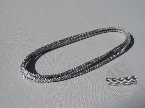 Endloszugschnur 2,8 mm, 130 cm Umlauf, grau