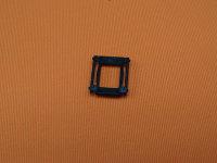 Aufzugbandöse mit Leiterstegklemme schwarz