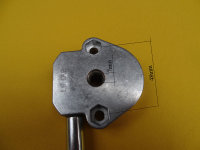Schneckengetriebe 6:1 mit ovaler Gussöse