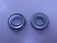 Mini-Kugellager ohne Rand - Bohrung 12 mm
