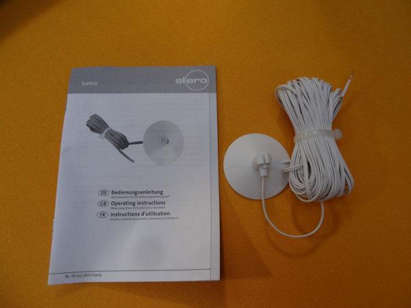 elero Sonnensensor Lumo mit 2 m Kabel