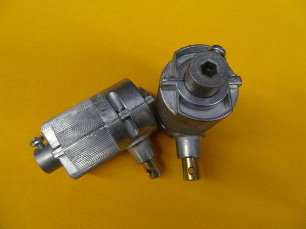 Jalousie-Kegelradgetriebe 3:1 Antrieb: Innensechskant 6 mm - Abtrieb: Innensechskant 7 mm