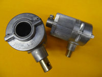 Jalousie-Kegelradgetriebe 3:1 Antrieb: Innensechskant 6...
