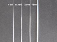 Spanndraht Kunststoff (Polyamid) Transparent