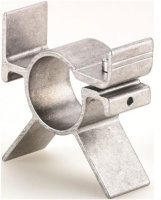 Getriebehalter Alu 57,5 x 59,5mm für 28 mm Getriebe