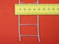 Leiterkordel für 35 mm Lamellen Silbergrau