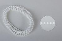 Bedienkette 4,5/6 Endloser Ring weiß Umlauf 160 cm...