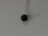 Abdeckstopfen für 10 mm Bohrung schwarz
