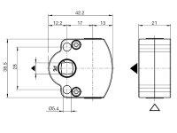 Schneckengetriebe 3:1 oder 4:1