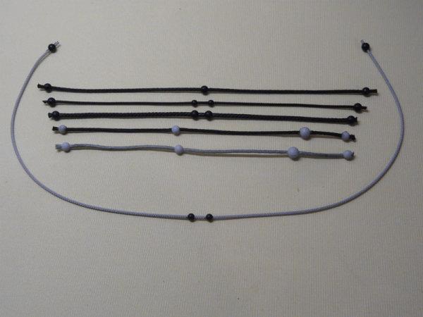 Kupplungsband, Kugelwendeschnur, Wendekordel