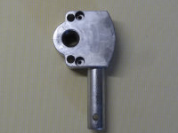 Schneckengetriebe 3:1 mit Gussöse oval, kurzer Antrieb