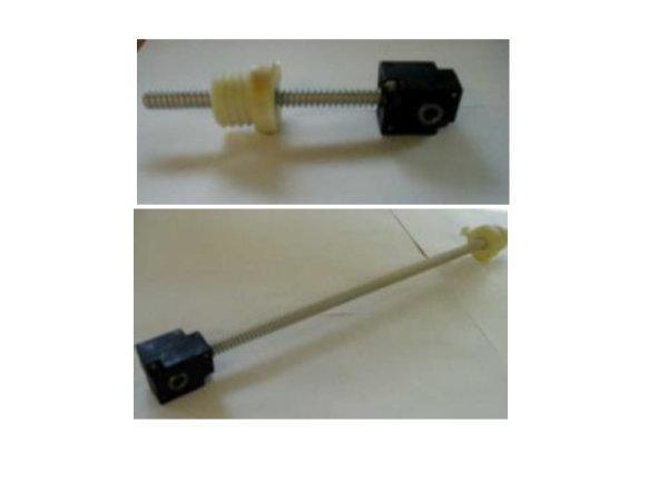 Kegelradgetriebe mit Spindel