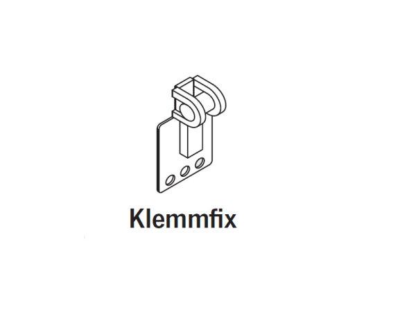 """Teba Raffrollo-Unterclip Klemmfix """"Speed"""""""