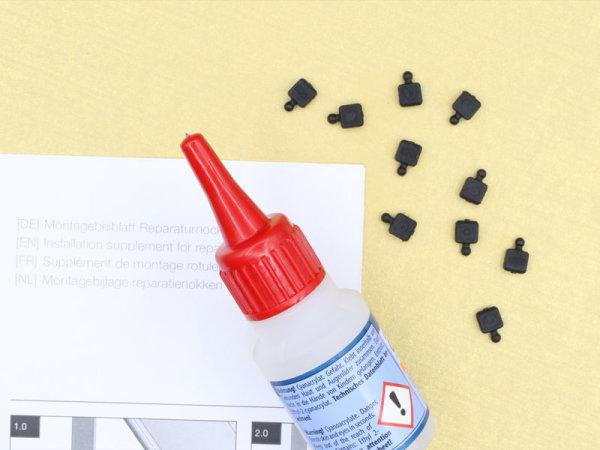Reparaturnocken für Roma-Kugelnockenbänder